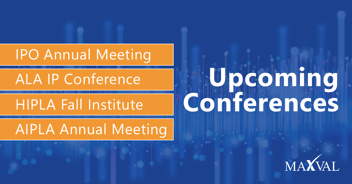 MaxVal Sponsoring and Exhibiting at Upcoming Conferences